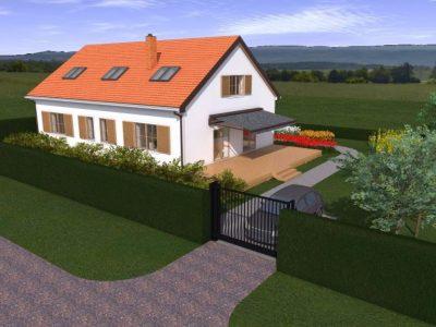 Dom jednorodzinny w Niekłonicach