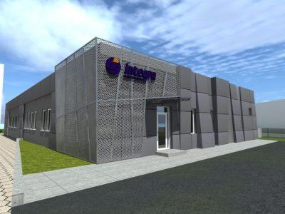 Remont elewacji budynku Integry w Koszalinie