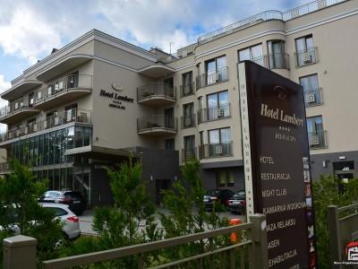 Hotel LAMBERT w Ustroniu Morskim